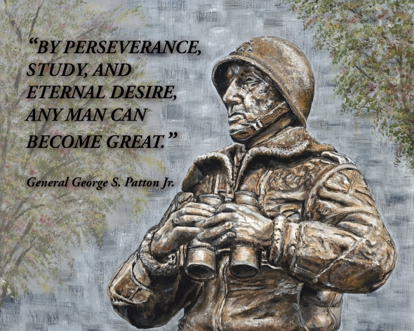 General Patton with Quote