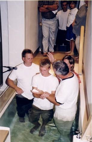 Nathan's baptism