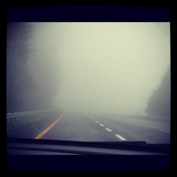 Foggy places