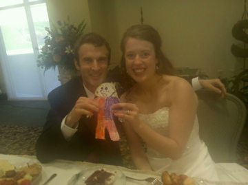 Look at this beautiful couple on their wedding day! Flat Stanleyette thought you two were sooooooo in <3!