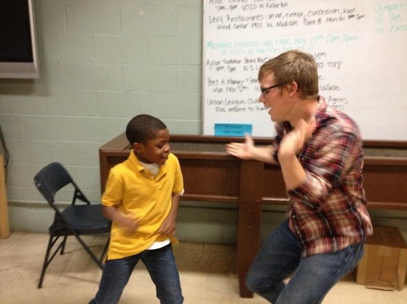 Aaron loves this ministry and the kids he meets! Thanks be to God!