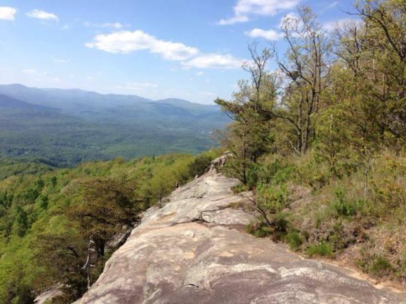 Mount Yonah in Georgia