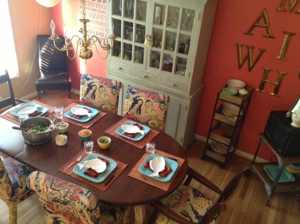 This dining room has housed many memories indeed!