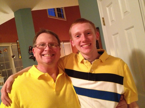 Those are two very lemony collared shirts, don't you think?